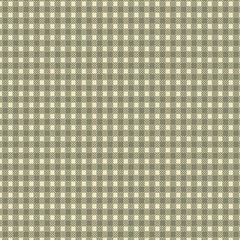 Pear Harvest - Gingham Small fabric by kristopherk on Spoonflower - custom fabric