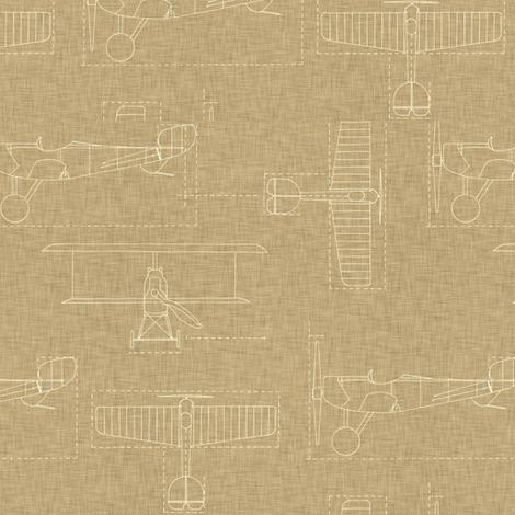 flight school linen bright fabric by holli_zollinger on Spoonflower - custom fabric
