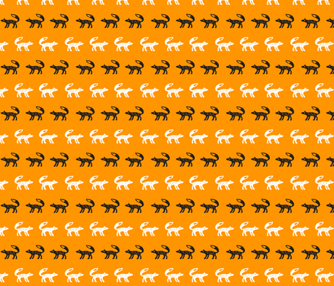 foxy fabric by anja_rieger on Spoonflower - custom fabric