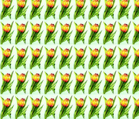 tulips fabric by lamujo on Spoonflower - custom fabric