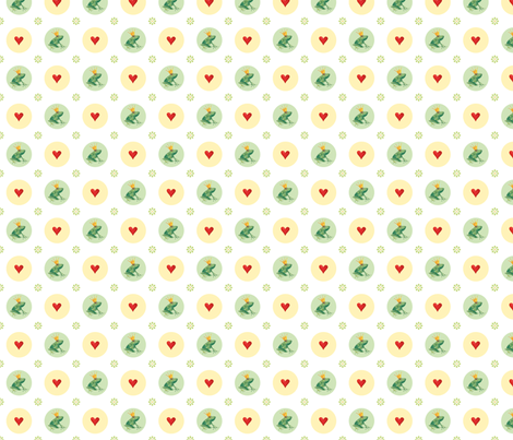 Frog Prince fabric by evamarion on Spoonflower - custom fabric