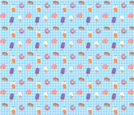 sweet things fabric by puffyp on Spoonflower - custom fabric