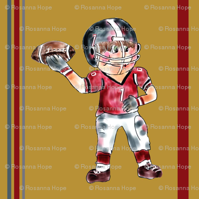 Touchdown Pass by Rosanna Hope for Babybonbons