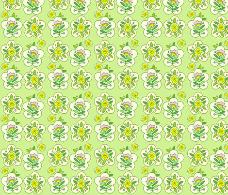 Fun Flowers fabric by jone on Spoonflower - custom fabric