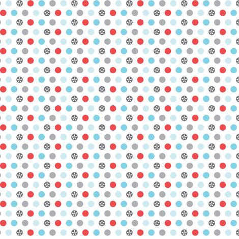 Mini Dot - Polka Dot Geometric fabric by heatherdutton on Spoonflower - custom fabric