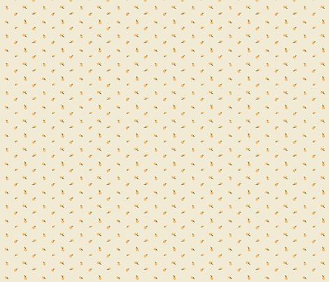 Cherry Crumbs, Orange Tan fabric by natalie on Spoonflower - custom fabric