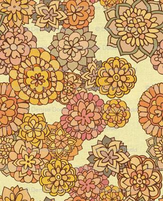 Florabundant Flower Fabric