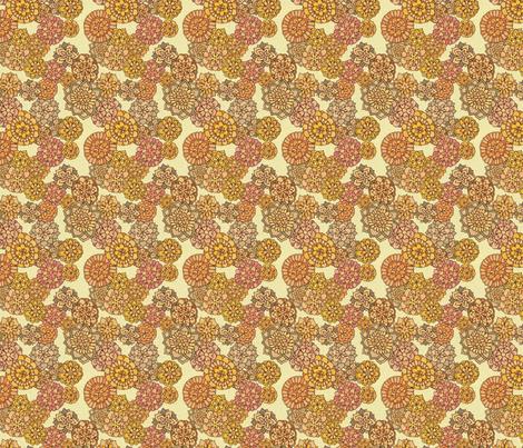 Florabundant Flower Fabric fabric by dottikins on Spoonflower - custom fabric