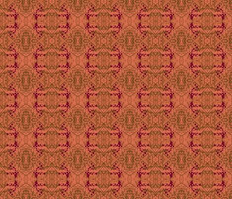 primrose-salmon lox fabric by wren_leyland on Spoonflower - custom fabric