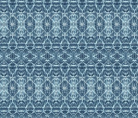 blue-leaf-blade_350 fabric by wren_leyland on Spoonflower - custom fabric