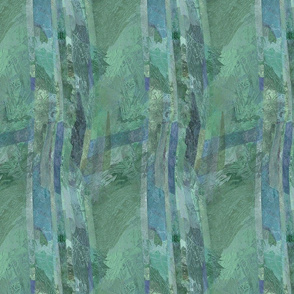 Jade green abstract