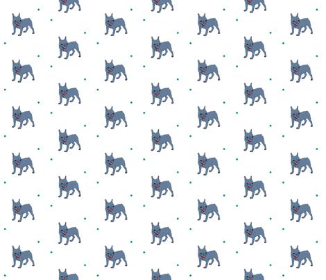 frenchbulldog fabric by bonspiel on Spoonflower - custom fabric