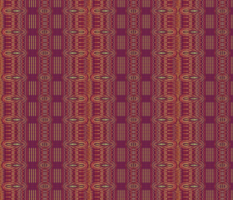 deep burgundy plaid  fabric by wren_leyland on Spoonflower - custom fabric