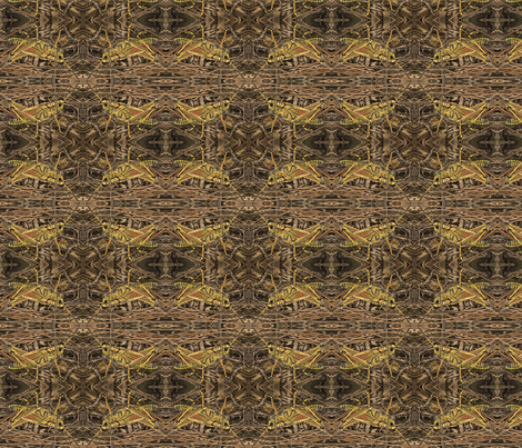 grasshopper ancient fabric by wren_leyland on Spoonflower - custom fabric