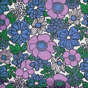 purpleblue retro