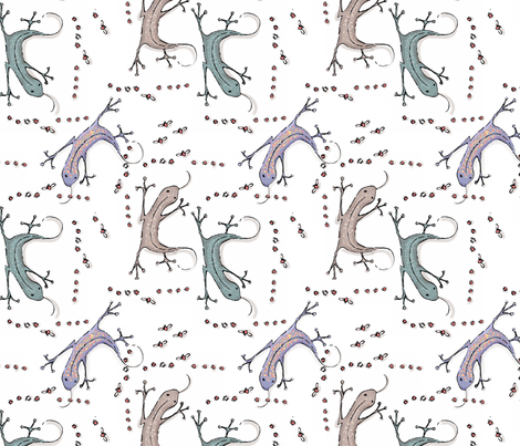 Lizzy_and_the_Ladies fabric by ddmote on Spoonflower - custom fabric