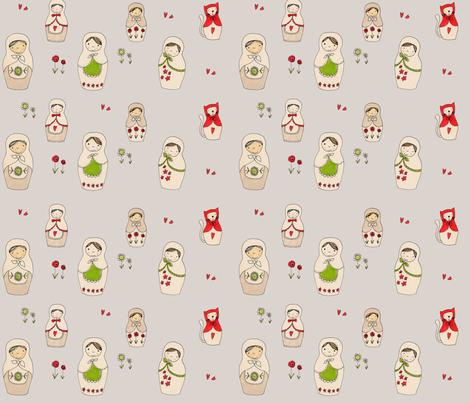Matroshka_150_dpi fabric by susalabim on Spoonflower - custom fabric