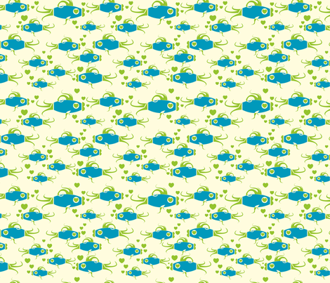 I Like Fish fabric by royalforest on Spoonflower - custom fabric