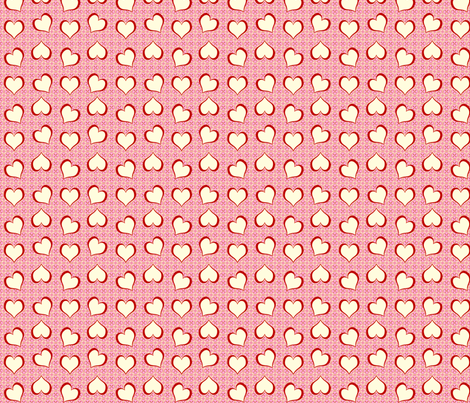 Candy Hearts fabric by cksstudio80 on Spoonflower - custom fabric