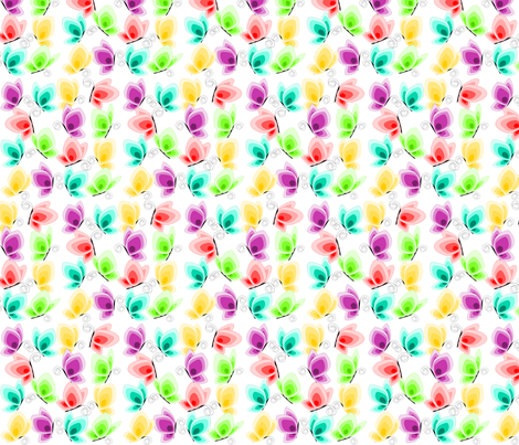 butterfly fabric by rose'n'thorn on Spoonflower - custom fabric
