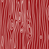 Wonky Woodgrain - Poppy