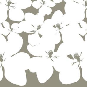 Magnolia Little Gem - Sage - 2 Yard Panel