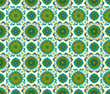Chesna Three fabric by royalforest on Spoonflower - custom fabric
