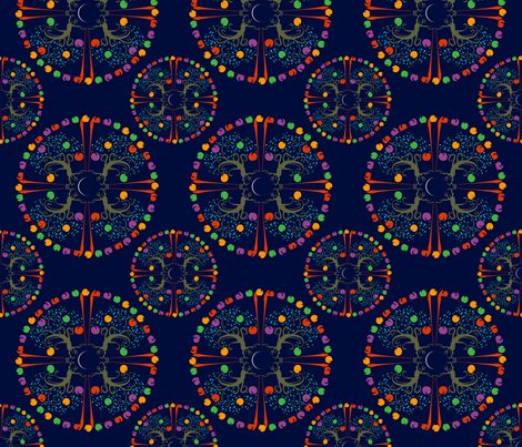 Fruitful Tree fabric by royalforest on Spoonflower - custom fabric