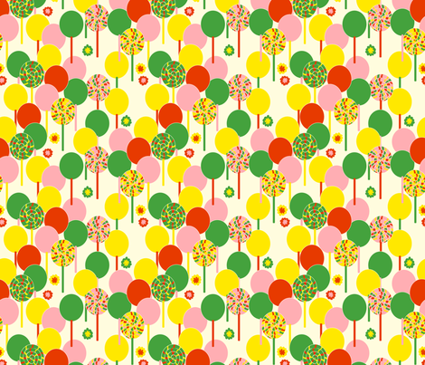 Lollies fabric by royalforest on Spoonflower - custom fabric
