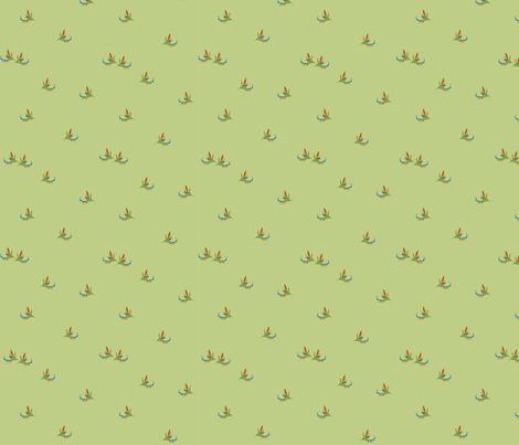 Hummingbirds fabric by royalforest on Spoonflower - custom fabric
