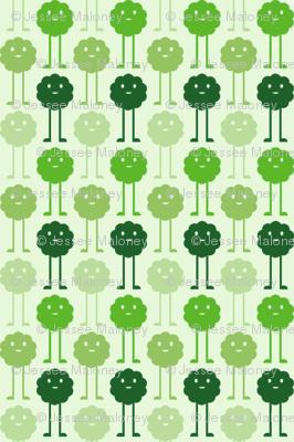 Monsters Blooming - Green