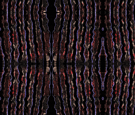 Heat Wave - Night fabric by not-enough-time on Spoonflower - custom fabric