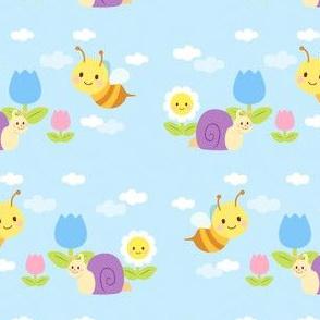 Snail & Bee