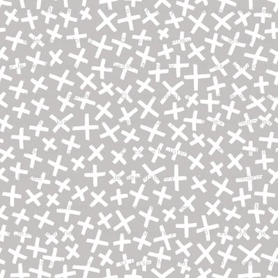 An Assortment of Tiny X's - Ash