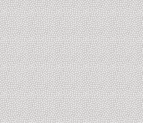 An Assortment of Tiny X's - Ash fabric by jesseesuem on Spoonflower - custom fabric