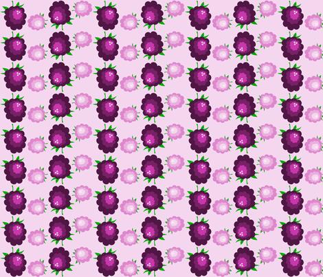 blackberry jam fabric by rose'n'thorn on Spoonflower - custom fabric