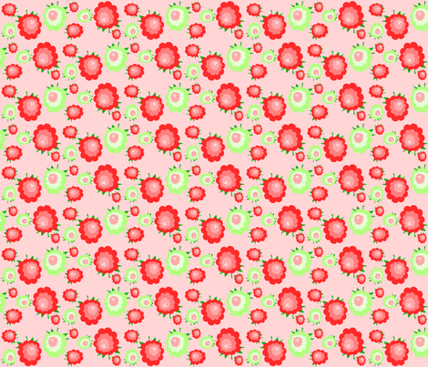 raspberry trifle fabric by rose'n'thorn on Spoonflower - custom fabric