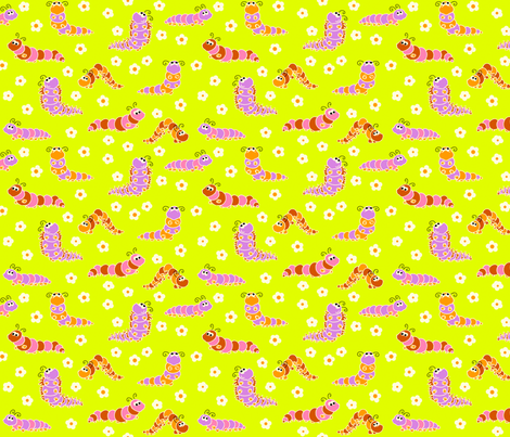 chenilles fabric by thelazygiraffe on Spoonflower - custom fabric