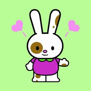 Love Bunny Green
