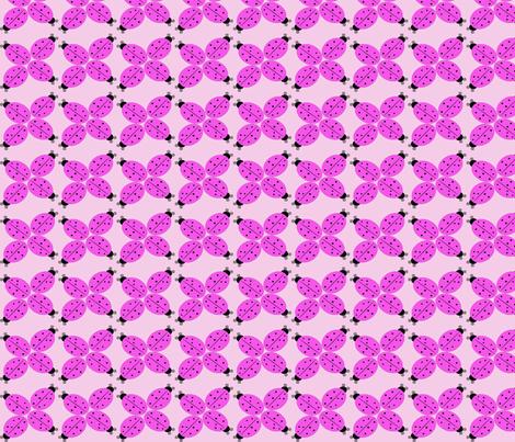 ladybug2 fabric by pepie on Spoonflower - custom fabric