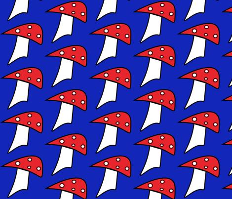 toadstool_large fabric by pepie on Spoonflower - custom fabric