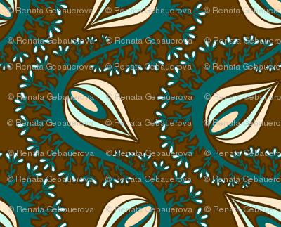 Peacock Chocolate Dreams