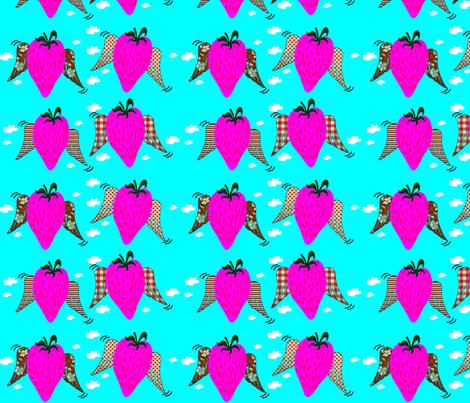 morangoFQ-ed fabric by microbio on Spoonflower - custom fabric
