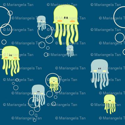 Jellyfish & Bubbles