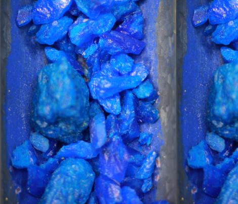Blue Rocks fabric by studiotart on Spoonflower - custom fabric