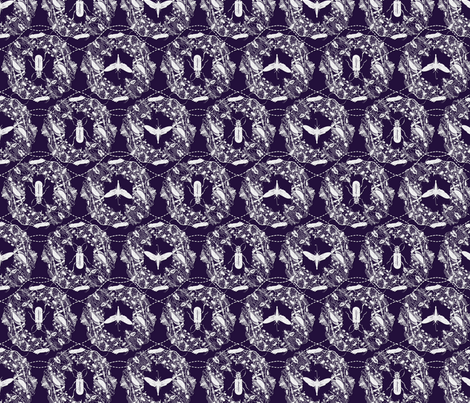 Creepy Cameo 2 fabric by locamode on Spoonflower - custom fabric