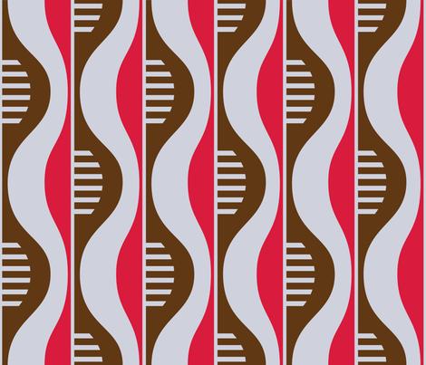 wallflower_art deco fabric by wallflowerdesign on Spoonflower - custom fabric