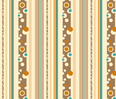 Beach Stripes fabric by twobloom on Spoonflower - custom fabric