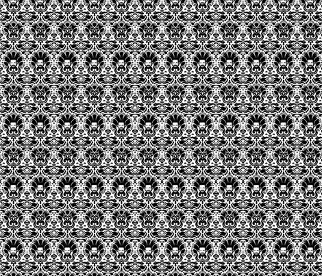 Billy Mays Damask fabric by missmudkip on Spoonflower - custom fabric