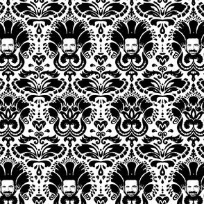 Billy Mays Damask
